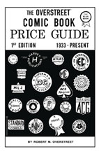 Image: Overstreet Comic Book Price Guide #1 HC  (Facsimile edition) - Gemstone Publishing