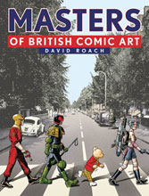 Image: Masters of British Comic Art HC  - Rebellion / 2000AD