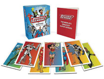 Image: Justice League Morphing Magnet & Book Set  - Running Press