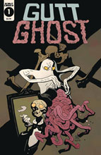 Image: Gutt Ghost Trouble w/Sawbuck Skeleton Society  (Mignola cover) - Scout Comics