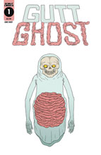 Image: Gutt Ghost Trouble w/Sawbuck Skeleton Society  (Glow-in-Dark) - Scout Comics