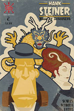 Image: Hank Steiner Monster Detective #2 - Source Point Press
