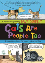 Image: Cats Are People Too: Collected Cat Cartoons SC  - Square Fish