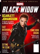 Image: Black Widow Official Movie Special  (newsstands cover) - Titan Comics