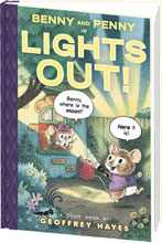 Image: Benny and Penny: Lights Out SC  - Toon Books