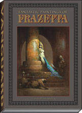 Image: Fantastic Paintings of Frazetta HC  - Vanguard Productions