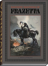 Image: Fantastic Paintings of Frazetta  (deluxe slipcased edition) - Vanguard Productions