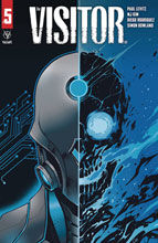 Image: Visitor #5 (cover B - Wijngaard) - Valiant Entertainment LLC