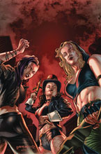 Image: Van Helsing vs. The League of Monsters #3 (cover A - Barrionuevo) - Zenescope Entertainment Inc