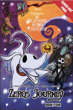 Image: Disney Manga Nightmare Christmas Zero's Journey Vol. 04 SC  - Tokyopop
