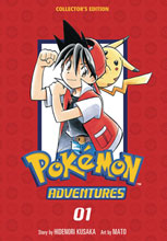 Image: Pokemon Adventures Collectors Edition Vol. 01 SC  - Viz Media LLC