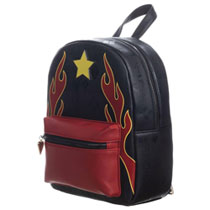 Image: Birds of Prey Mini-Backpack: Harley Quinn Skate  - Bioworld Merchandising
