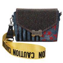 Image: Birds of Prey Handbag: Harley Quinn - Caution Tape  - Bioworld Merchandising