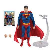 Image: DC Batman/Superman Wv1 Mod Superman Action Figure Case  (7-inch) - TMP Toys / McFarlane Toys