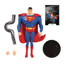 Image: DC Animated Wv1 Superman Action Figure Case  (7-inch) - TMP Toys / McFarlane Toys