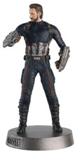 Image: Marvel Movie Hero Collector Heavyweights #2 (Captain America) - Eaglemoss Publications Ltd