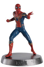 Image: Marvel Movie Hero Collector Heavyweights #3 (Spider-Man Iron Spider) - Eaglemoss Publications Ltd
