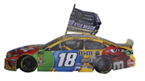 Image: NASCAR Cup Ecoboost 400 Busch M&M 1/24 Ho Car  - Lionel Nascar Collectibles