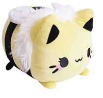 Image: Tasty Peach Studios Meowchi Plush: Queen Bee  (10.5-Inch) - Tasty Peach Studios