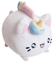 Image: Tasty Peach Studios Meowchi Plush: Unicorn  (10.5-Inch) - Tasty Peach Studios