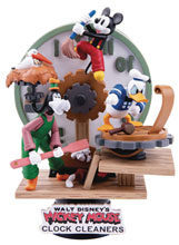 Image: Disney DS-046 D-Stage Series Statue: Clock Cleaners  (PX) (6-inch) - Beast Kingdom Co., Ltd
