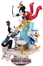 Image: Disney DS-047 D-Stage Series Statue: The Band Concert  (PX) (6-inch) - Beast Kingdom Co., Ltd