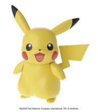 Image: Pokemon Bandai Model Kit: Pikachu  - Bandai Hobby