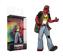 Image: Figpin Mini-Marvel Pin: Deadpool 60s  - Cmd Collectibles