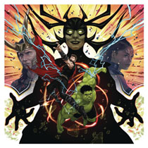 Image: Marvels Studios Original Movie Soundtrack: Thor Ragnarok  (2xLP) - Mondo Tees LLC
