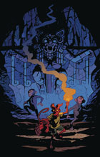 Image: Young Hellboy: The Hidden Land #3 (cover A - Smith) - Dark Horse Comics