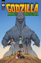 Image: Godzilla: Monsters & Protectors #1 (cover A - Dan Schoening) - IDW Publishing