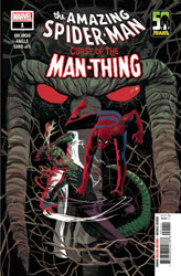 Image: Spider-Man: Curse of Man-Thing #1 - Marvel Comics