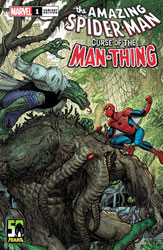 Image: Spider-Man: Curse of Man-Thing #1 (variant cover - Nick Bradshaw) - Marvel Comics