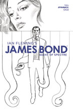 Image: James Bond: Agent of Spectre #2 (incentive 1:20 cover - Phillips B&W) - Dynamite