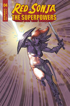 Image: Red Sonja: The Superpowers #4 (cover C - Linsner) - Dynamite