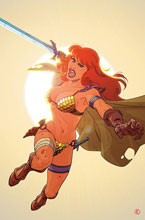 Image: Red Sonja: The Superpowers #4 (incentive 1:25 cover - Kano virgin) - Dynamite