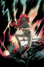 Image: Red Sonja: The Superpowers #4 (incentive 1:25 cover - Pinna virgin) - Dynamite