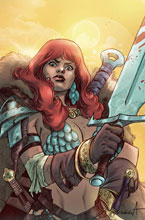 Image: Red Sonja: The Superpowers #4 (incentive 1:25 cover - Davila virgin) - Dynamite