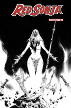 Image: Red Sonja #26 (incentive 1:30 cover - Lee B&W) - Dynamite