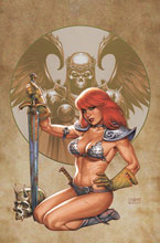 Image: Red Sonja #26 (variant cover - Linsner virgin) - Dynamite