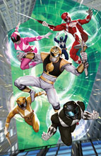 Image: Mighty Morphin #6 (cover A - Lee) - Boom! Studios