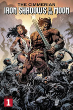 Image: Cimmerian: Iron Shadows in the Moon #1 (cover A - Level) - Ablaze