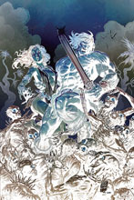 Image: Cimmerian: Iron Shadows in the Moon #1 (incentive 1:30 cover - Level negative art) - Ablaze