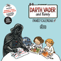 Image: Darth Vader & Family 2022 Wall Calendar  - Chronicle Books