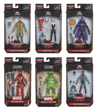 Image: Spider-Man Legends  (6-inch) Action Figure Assortment 202101 - Hasbro Toy Group