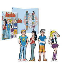 Image: Archie Comics Pin Book Set  - Icon Heroes