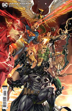 Image: Justice League #60 (variant card stock cover - Kael Ngu) - DC Comics