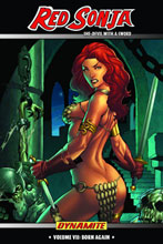 Image: Red Sonja Vol. 07: Born Again SC  - D. E./Dynamite Entertainment
