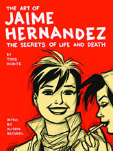 Image: Art of Jaime Hernandez: Secrets of Life & Death HC  -