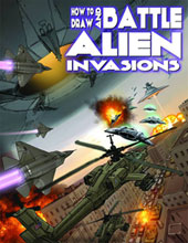 Image: How to Draw and Battle Alien Invasions SC  - Antarctic Press